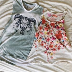 Two tops for price of 1